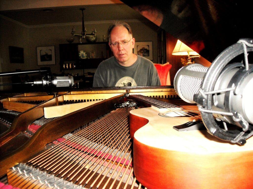 Paul at piano 2015